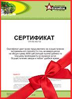 Подарочный сертификат на прокат квадроциклов